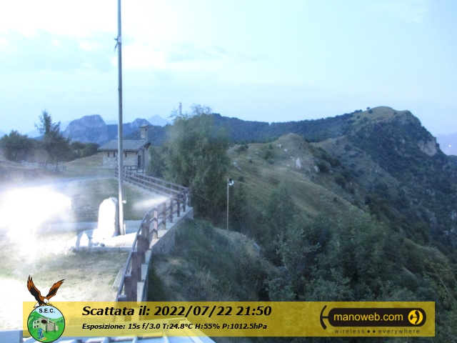 Webcam    Monte Cornizzolo(Rifugio Sec)